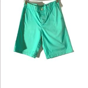 VINEYARD VINES  Boys Green Shorts Size 18